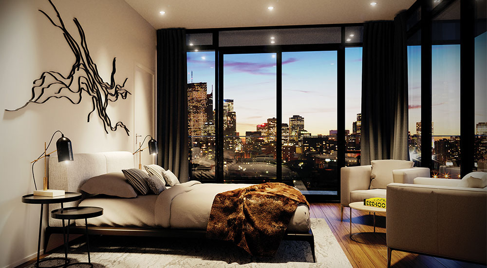 Bedroom at Canary Park