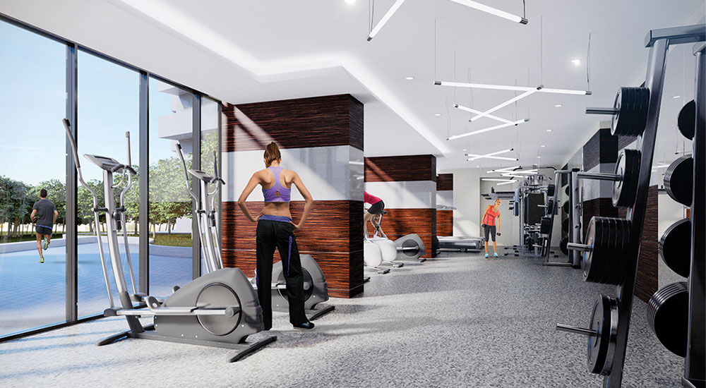 Fitness Centre at Canary Park